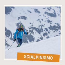 Attrezzatura da scialpinismo