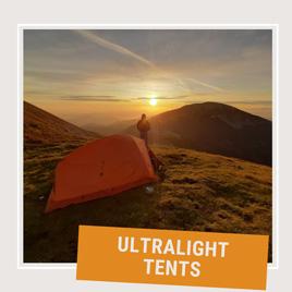 Ultralight tents